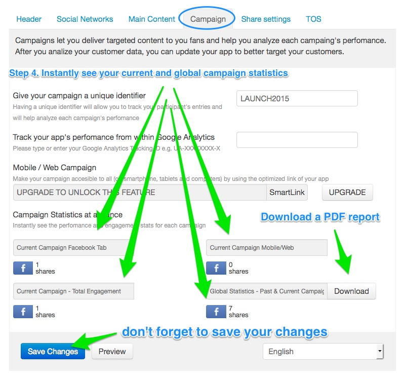 Learn how to track your campaign in fanmagnet