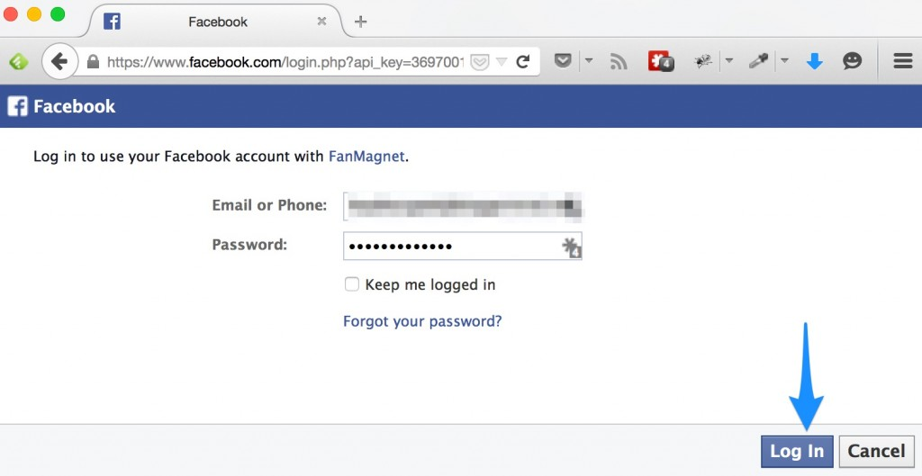 """<div class='et-box et-""""info""""'> <div class='et-box-content'>YOU MUST LOG INTO FACEBOOK AS AN ADMIN OF YOUR FANPAGE BEFORE CLICKING THE BUTTON.</div></div>"""